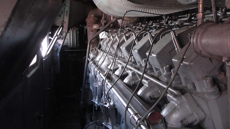 Датчики давления газа на тепловозном дизеле Д49