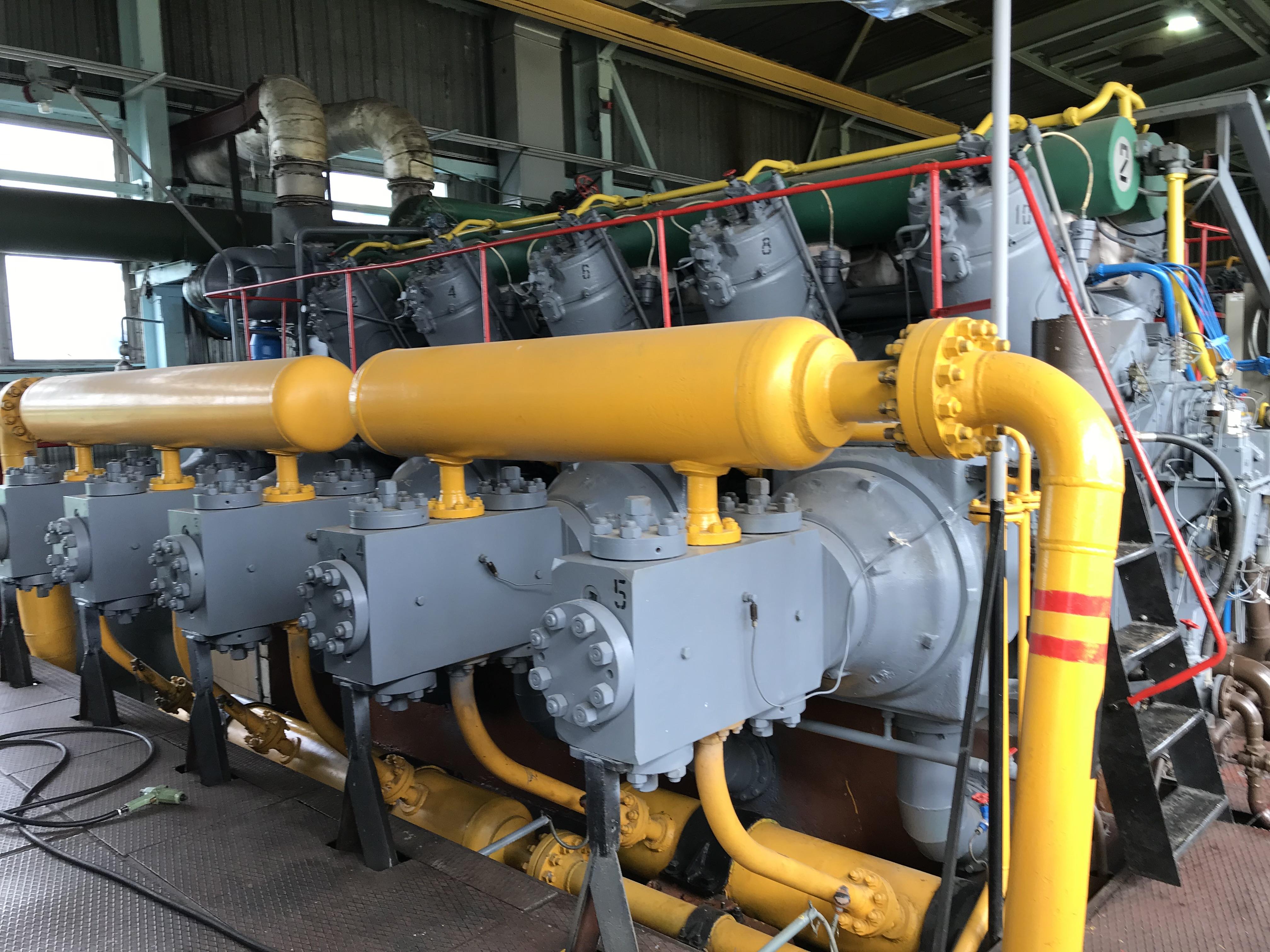 контроль газомотокомпрессоров