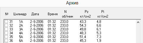 индикаторная диаграмма до настройки-2